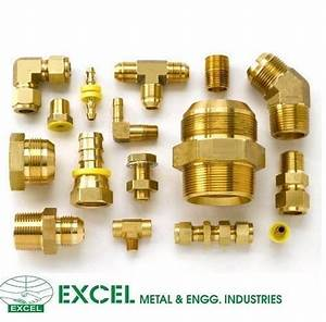 Brass Compression Fittings  Size  3  4 And 1 Inch  Rs 20