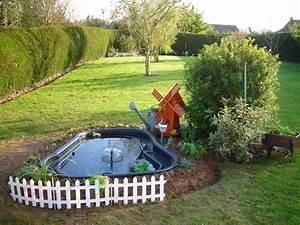Bassin De Jardin Pour Poisson : mamzelle didounne76 mon petit bassin de jardin photos ~ Premium-room.com Idées de Décoration