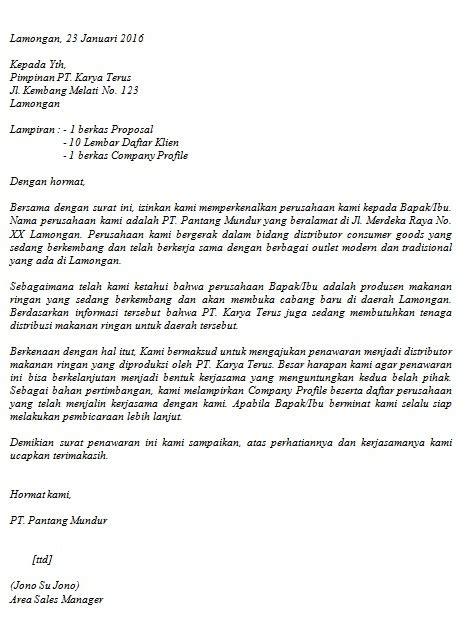 Contoh Surat Permintaan Barangjasa Yang by Contoh Surat Penawaran Barang Jasa Cara Buat Surat