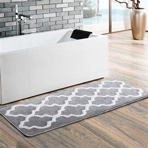 prodigious  comfort long bathroom rugs