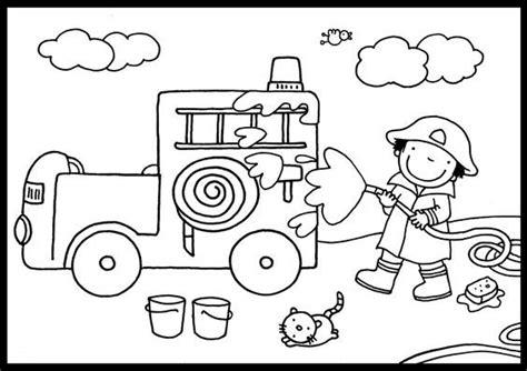 Kleurplaat Brandweer Peuters by Kleurplaat Brandweer Z 225 Chrann 253 Syst 233 M Brandweer