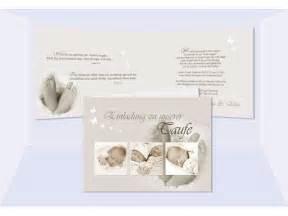 einladung hochzeit und taufe taufe einladung einladungskarte klappkarte in creme