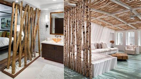 decoracion  canas de bambu
