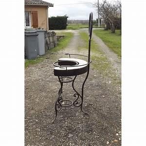 Meuble En Fer : meuble de toilette 1900 en fer forg et marbre ~ Melissatoandfro.com Idées de Décoration