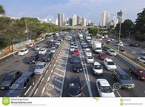 Sao Paulo Afternoon Rush Hour Commute Editorial Photo ...