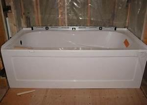 Bathroom Installing A Bathtub The Best Method For