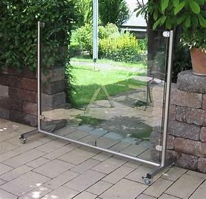 Windschutz Terrasse Glas Beweglich : mobiler windschutz aus glas l sst sich ganz einfach bewegen und bietet h chste flexibilit t ~ A.2002-acura-tl-radio.info Haus und Dekorationen