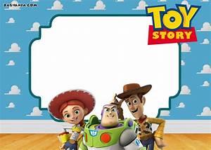free printable toy story birthday invitations bagvania With toy story invites templates free
