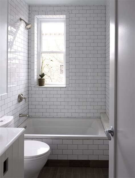 Prospect Park West Hall Bathroom  Contemporary Bathroom