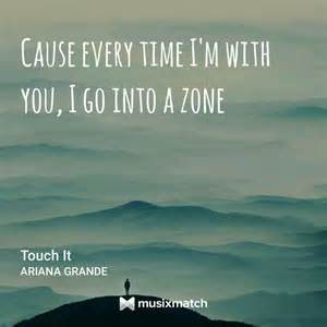 Ariana Grande Touch Lyrics