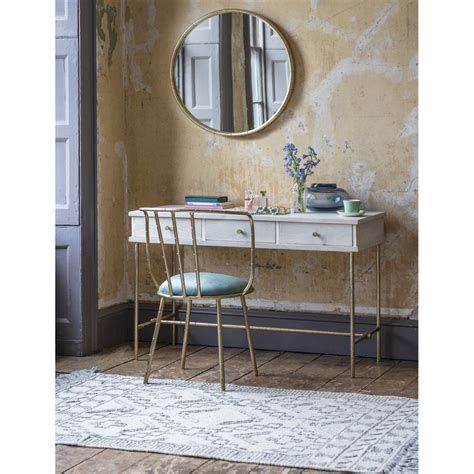 keiko dressing table console desk atkin  thyme