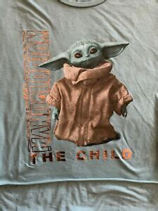 STAR WARS THE MANDALORIAN THE CHILD BABY YODA ADULT T ...