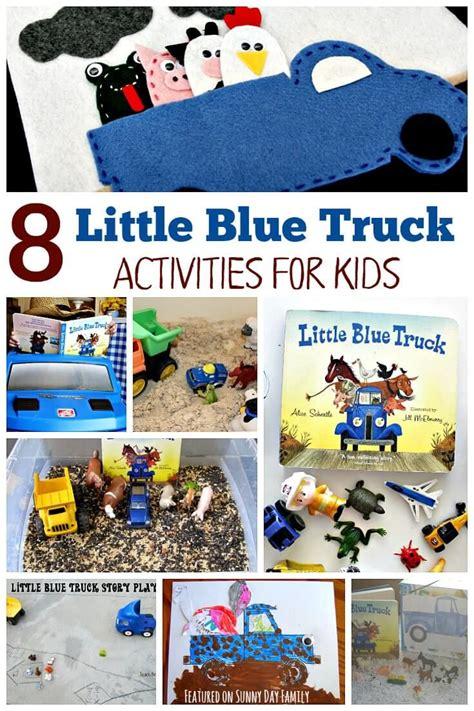 8 blue truck activities for preschoolers 453 | 9ec48735f8633bd0b430075967d607c0