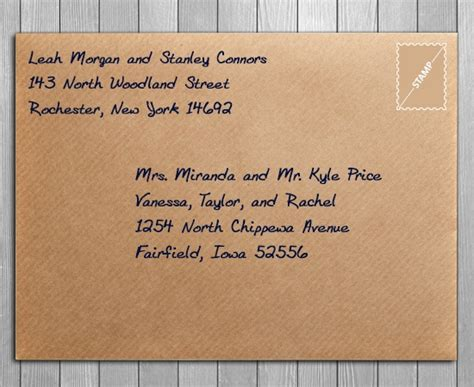 how to address an envelope to a family 7 essentials of save the date etiquette you should