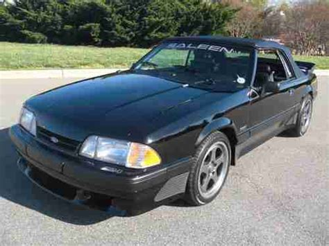 Purchase Used Authentic Fox Body Saleen Convertible 1988