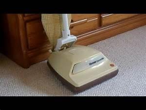 Vintage Hoover Convertible  U4175  Upright Vacuum Cleaner