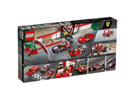 Build the cars in the workshop, featuring an adjustable car ramp. LEGO Set 75889-1 Ferrari Ultimate Garage (2018 Speed Champions) | Rebrickable - Build with LEGO