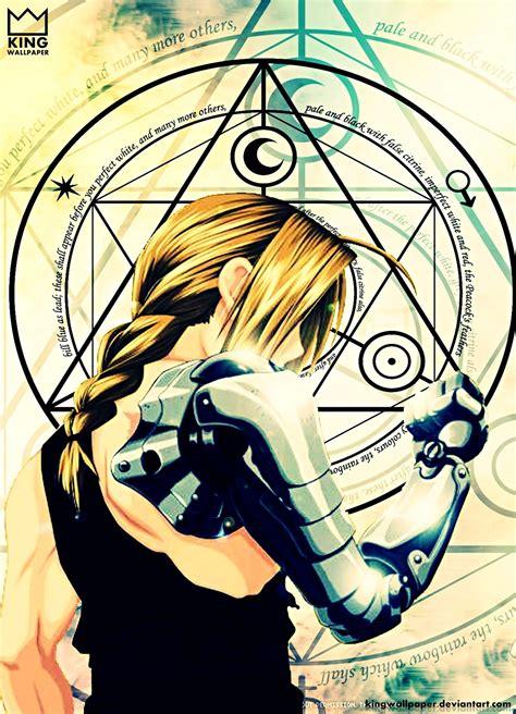 Anime Wallpaper Fullmetal Alchemist - fullmetal alchemist wallpaper by kingwallpaper fullmetal