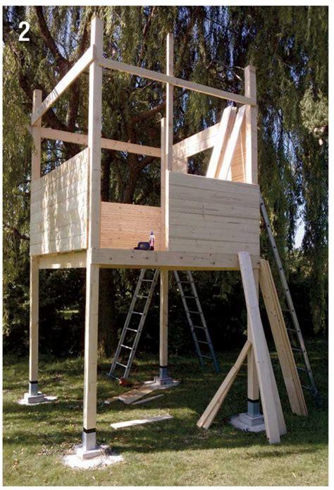 Come Costruire Una by Come Costruire Una Palafitta In Legno Per Bambini