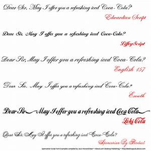 8 Different Writing Styles Fonts Images - Different Font ...