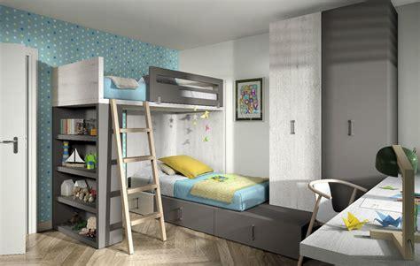 Komplett Kinderzimmer Mit Hochbett + Jugendbett