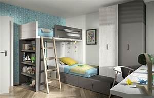 Hochbett Mit Zwei Betten : modernes jugendzimmer 2 betten hochbett kleiderschran 15 farben tisch ebay ~ Whattoseeinmadrid.com Haus und Dekorationen