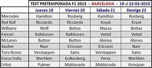 Calendrier Formule E : f1 calendrier essais barcelone 2015 formule 1 formule 1 et formule e ~ Medecine-chirurgie-esthetiques.com Avis de Voitures