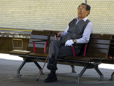 Japanese Old Man Sitting · Free Photo On Pixabay