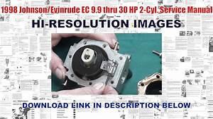 1998 Johnson  Evinrude Ec 9 9 Thru 30 Hp 2