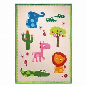 tapis enfant zoo beige esprit home 170x240 With tapis chambre bébé avec achat fleur en ligne