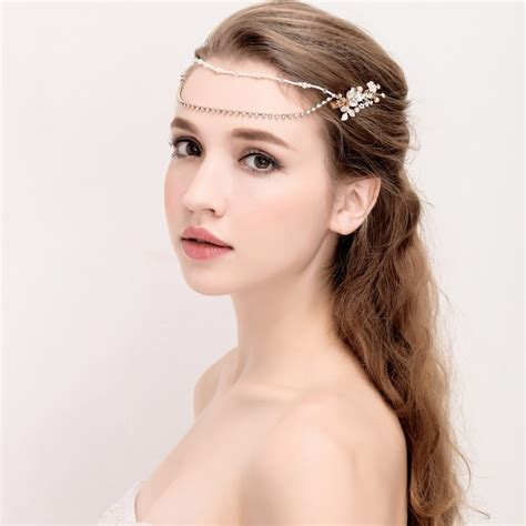 Aliexpress.com : Buy Elegant Pearl Beaded Bridal Headpiece ...