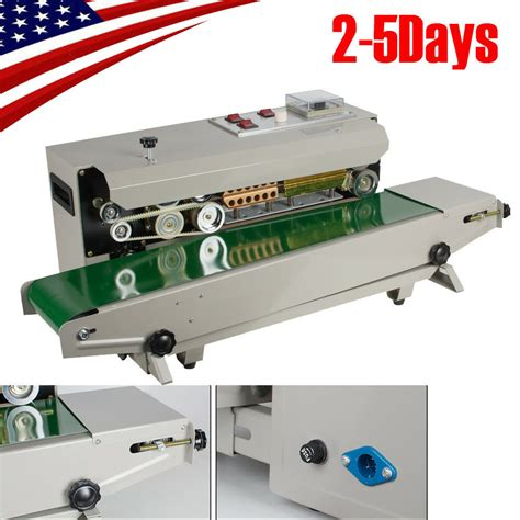 professional auto horizontal continuous plastic bag band sealing sealer machine  ebay