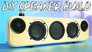 Diy Portable Bluetooth   Wifi Speaker Build