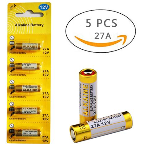 Amazon.com: Alkaline Batteries GP - 23AE 12V (pack of 5