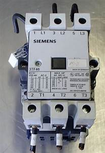 Siemens Size 2 Starter Contactor 3tf46 80amp 24vcoil 3ph 600volt 50hp