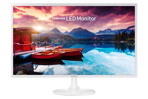 fhd white monitor  super slim design sf