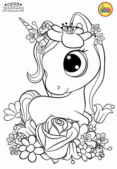 Coloring Pages Printables Cuties Bojanke Preschool Animal
