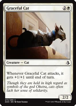 graceful cat from amonkhet spoiler