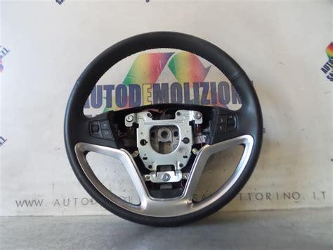 volante pelle ricambi usati volante pelle opel antara l07 01 11