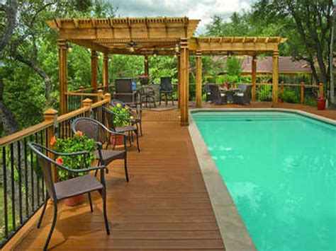 pool deck designs pictures home remodeling best design above ground pool deck plans above ground pool deck plans above