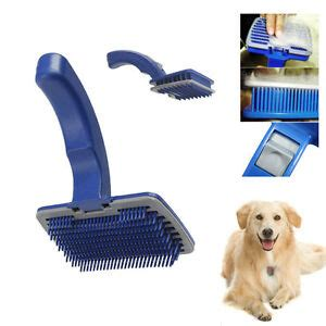 Cat Brushes For Shedding by Pet Cat Grooming Self Cleaning Slicker Brush Comb