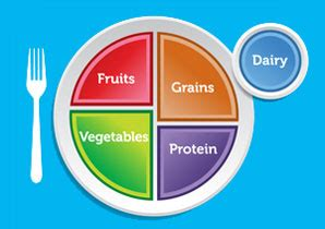Diagram Of Healthy Plate by How The Myplate Diagram The New Food Pyramid Can Help