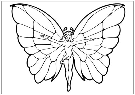 fairy wing coloring pages   print