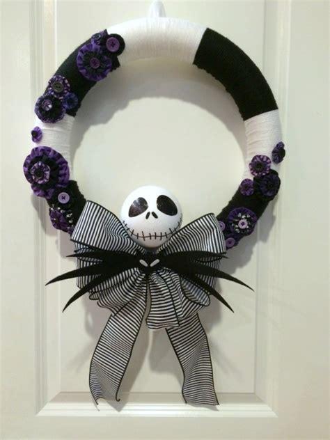 making  nightmare  christmas yarn wreath thriftyfun