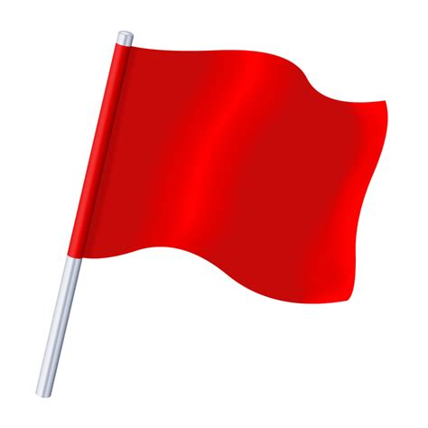 red flag image   clip art  clip art