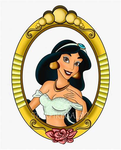 Disneyland Disney Clipart Party Princess Belle Mirror