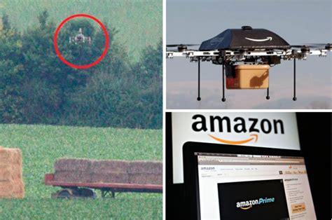 amazon drones test flight  internet giants delivery