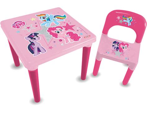 My Little Pony My First Activities Table Chair Set With