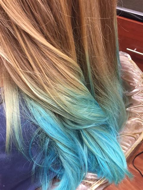 Best 25 Teal Highlights Ideas On Pinterest Teal Hair