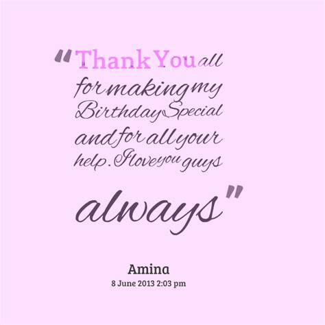 25+ Special Thank You Quotes And Sayings Golfiancom